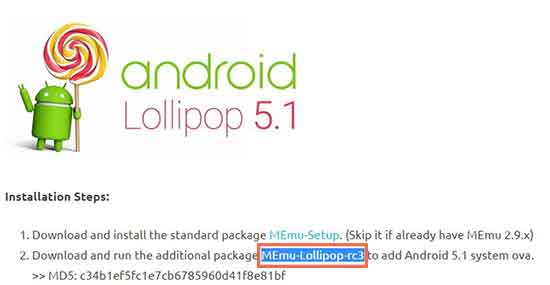 Come-emulare-Android-Lollipop-sul-PC-con-MEnu-B